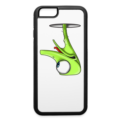Funny Green Ostrich T-shirt - iPhone 6/6s Rubber Case
