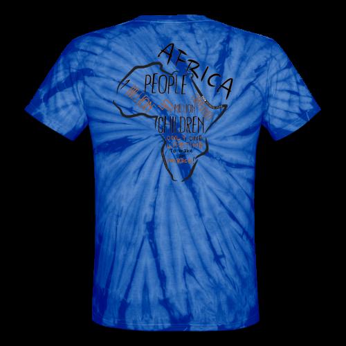 Eden Africa TD Color - Unisex Tie Dye T-Shirt
