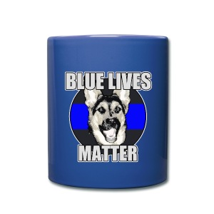 Blue lives matter - Full Color Mug