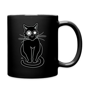 Ghostbuster Gato - Full Color Mug
