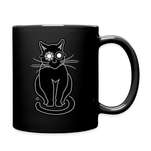 Ghostbuster Gato - Full Color Mug