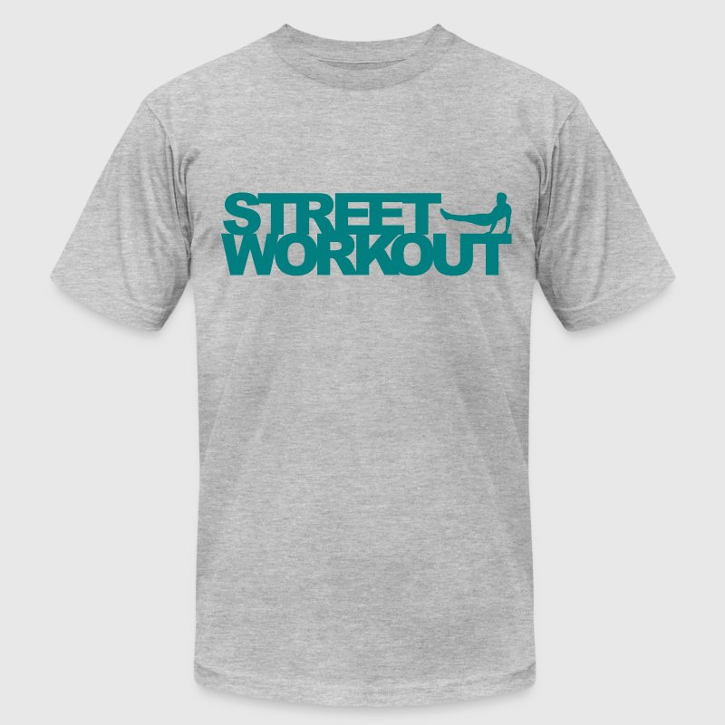 Street Workout T-Shirts - Men's T-Shirt by American Apparel