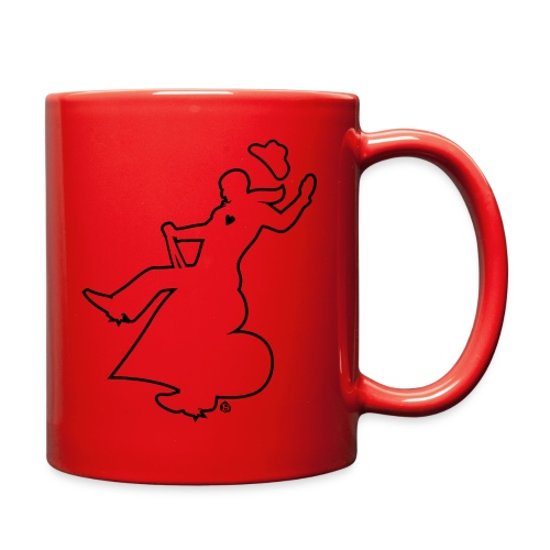 Bronco Heart Silhouette - Full Color Mug