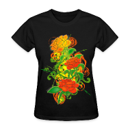 T-Shirts ~ Women's T-Shirt ~ Colored_Roses