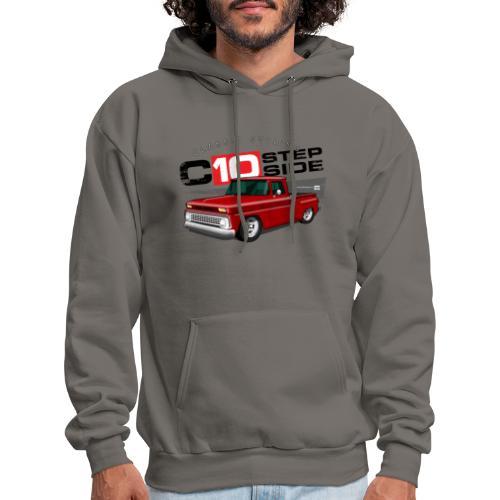 C10 Stepside PREMIUM ART Hooded Sweatshirt - Men's Hoodie
