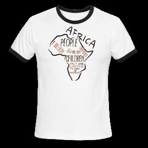 Eden Africa Ranger Simple - Men's Ringer T-Shirt
