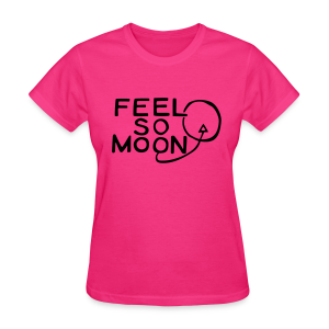 Feel So Moon Black V1.1 Lady Standard T - Women's T-Shirt