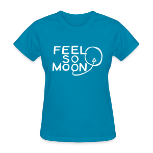 Feel So Moon White V1.1 Lady Standard T - Women's T-Shirt