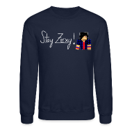 Long Sleeve Shirts ~ Crewneck Sweatshirt ~ Stay Zexy Line Crewneck - Unisex
