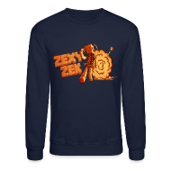 Long Sleeve Shirts ~ Crewneck Sweatshirt ~ ZexyZek Explosion Crewneck - Unisex