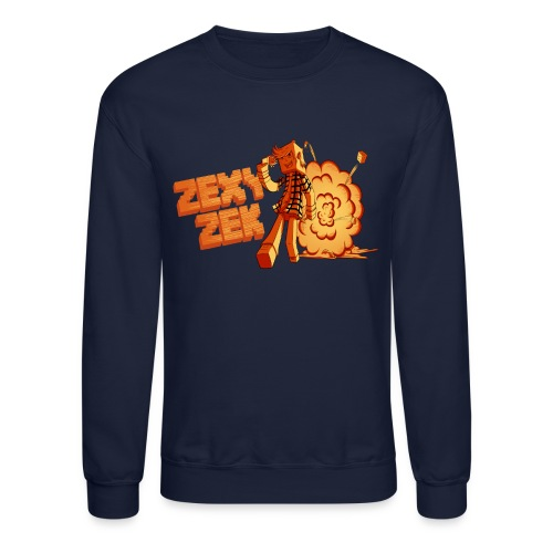 ZexyZek Explosion Crewneck - Unisex - Crewneck Sweatshirt
