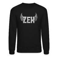 Long Sleeve Shirts ~ Crewneck Sweatshirt ~ ZexyZek Logo Middle Crewneck - Unisex