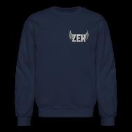 Long Sleeve Shirts ~ Crewneck Sweatshirt ~ ZexyZek Logo Corner Crewneck - Unisex
