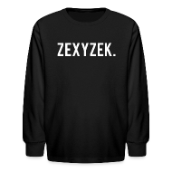Kids' Shirts ~ Kids' Long Sleeve T-Shirt ~ ZexyZek. Long Sleeve - Kids