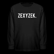 Kids' Shirts ~ Kids' Long Sleeve T-Shirt ~ ZexyZek. Long Sleeve - Kids