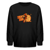 Kids' Shirts ~ Kids' Long Sleeve T-Shirt ~ ZexyZek Explosion Long Sleeve - Kids