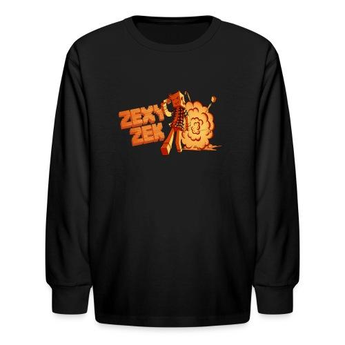 ZexyZek Explosion Long Sleeve - Kids - Kids' Long Sleeve T-Shirt