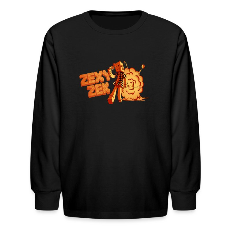 ZexyZek Explosion Long Sleeve - Kids - Kids' Long Sleeve T-Shirt