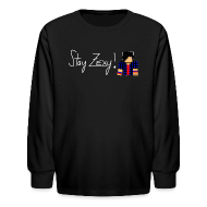 Kids' Shirts ~ Kids' Long Sleeve T-Shirt ~ Stay Zexy Line Long Sleeve - Kids