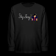 Kids' Shirts ~ Kids' Long Sleeve T-Shirt ~ Stay Zexy Line Long Sleeve - Kids