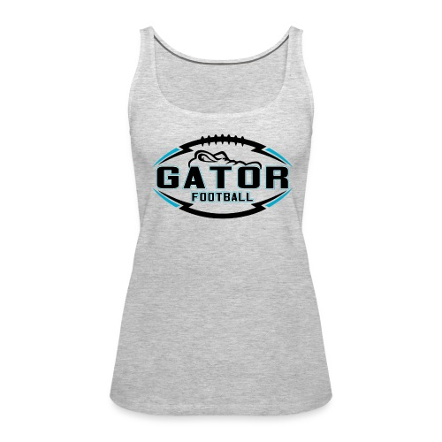Women's UTS Gator Tank Top - Gray - Women's Premium Tank Top