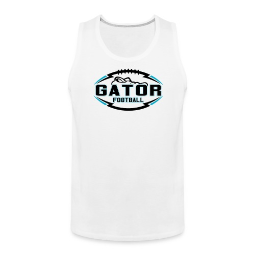 Men's UTS Gator Tank Top - White - Men's Premium Tank
