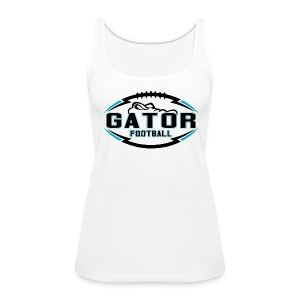 Women's UTS Gator Tank Top - White - Women's Premium Tank Top