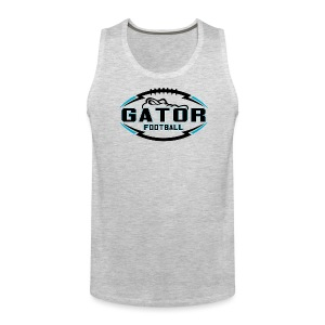 Men's UTS Gator Tank Top - Gray - Men's Premium Tank