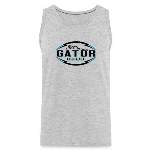 Men's UTS Gator Tank Top - Gray - Men's Premium Tank