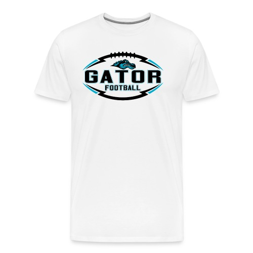 Men's UTS Gator 2 Premuim T-shirt - White - Men's Premium T-Shirt