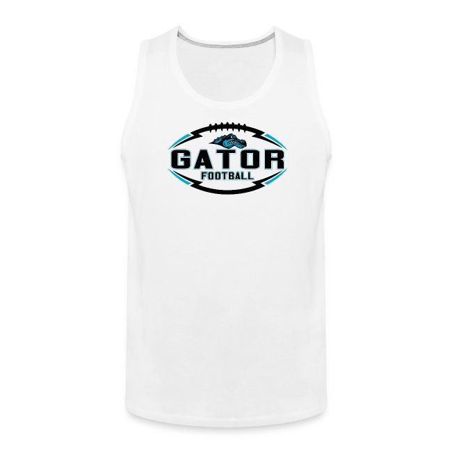 Men's UTS Gator 2 Tank Top - White