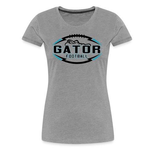 Women's UTS Gator Premuim T-shirt - Gray - Women's Premium T-Shirt