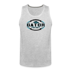 Men's UTS Gator 2 Tank Top - Gray - Men's Premium Tank