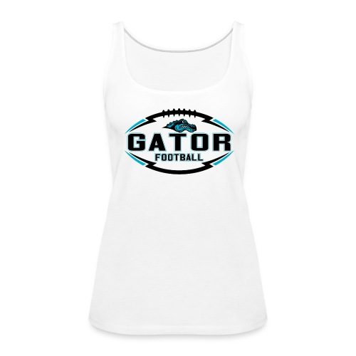 Women's UTS Gator 2 Tank Top - White - Women's Premium Tank Top