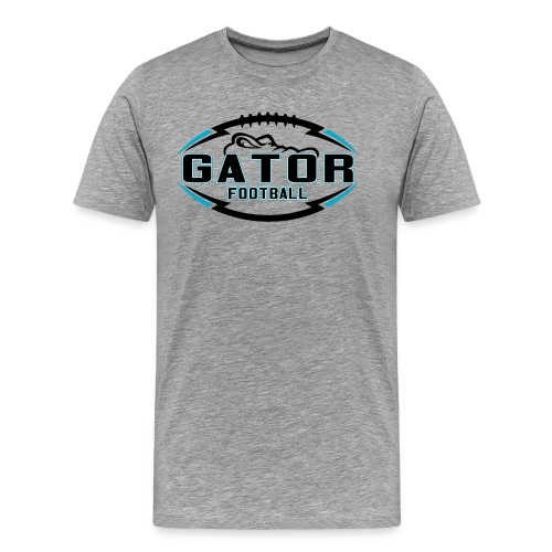 Men's UTS Gator 2 Premuim T-shirt - Gray - Men's Premium T-Shirt