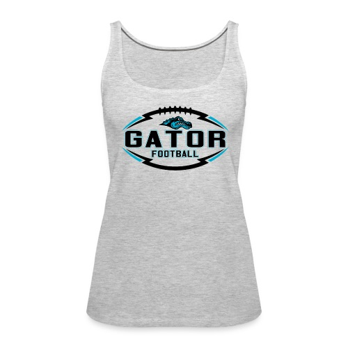 Women's UTS Gator 2 Tank Top - Gray - Women's Premium Tank Top