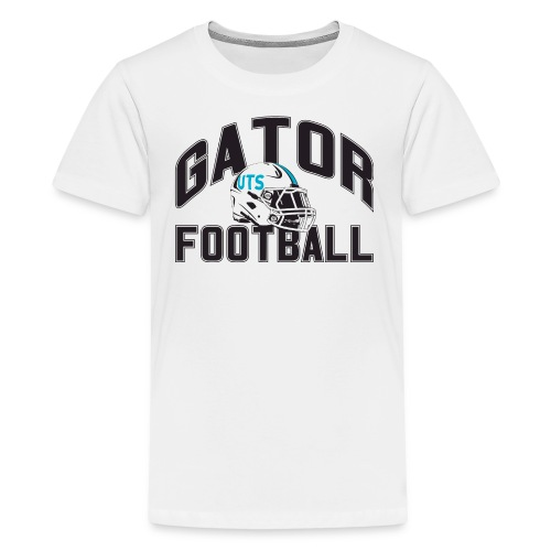 Kid's UTS Gator Football Premuim T-shirt - White - Kids' Premium T-Shirt