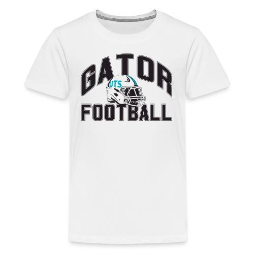 Kid's UTS Gator Football Premuim T-shirt - White - Kids' Premium T-Shirt