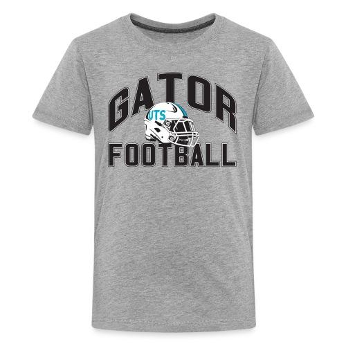 Kid's UTS Gator Football Premuim T-shirt - Gray - Kids' Premium T-Shirt