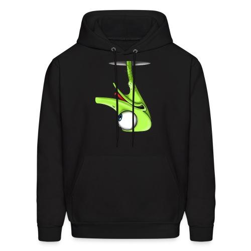 Funny Green Ostrich T-shirt - Men's Hoodie