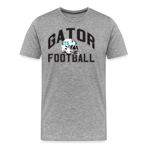 Men's UTS Gator Football Premuim T-shirt - Gray - Men's Premium T-Shirt