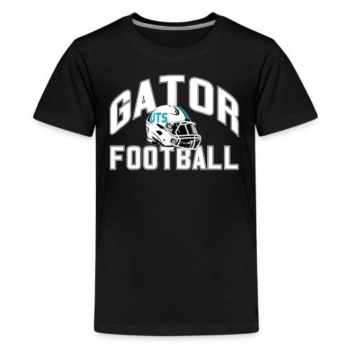 Kid's UTS Gator Football Premuim T-shirt - Black - Kids' Premium T-Shirt