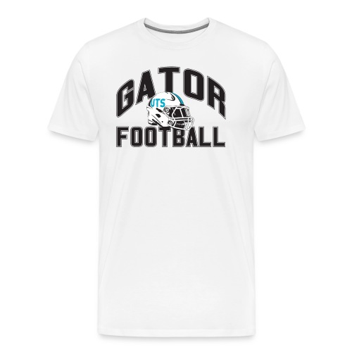 Men's UTS Gator Football Premuim T-shirt - White - Men's Premium T-Shirt