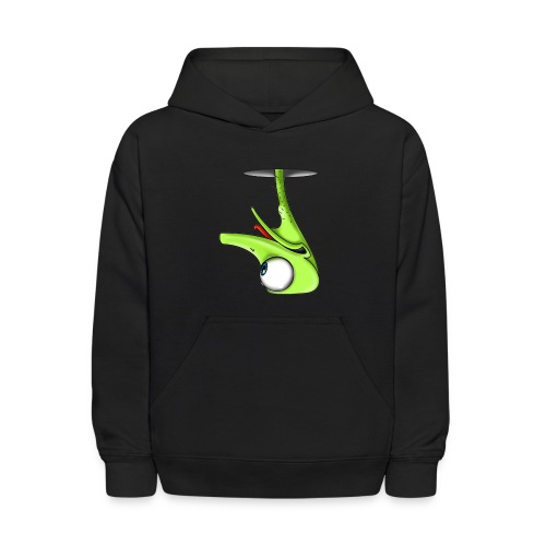 Funny Green Ostrich T-shirt - Kids' Hoodie