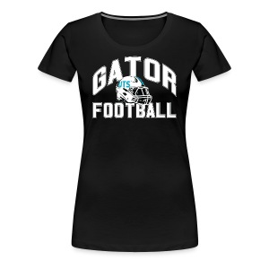 Women's UTS Gator Football Premuim T-shirt - Black - Women's Premium T-Shirt