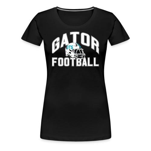 Women's UTS Gator Football Premuim T-shirt - Black - Women's Premium T-Shirt