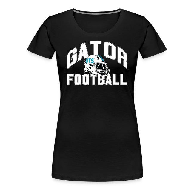Women's UTS Gator Football Premuim T-shirt - Black