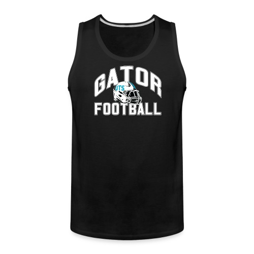 Men's UTS Gator Football Tank Top - Black - Men's Premium Tank