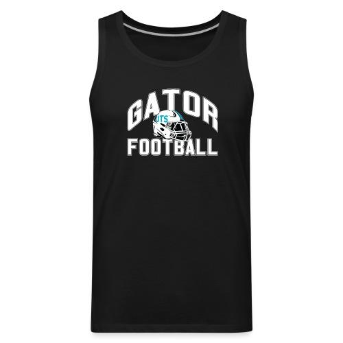 Men's UTS Gator Football Tank Top - Black - Men's Premium Tank