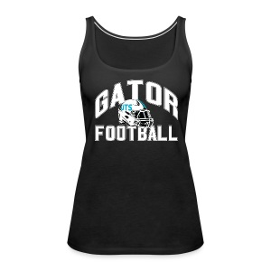 Women's UTS Gator Football Tank Top - Black - Women's Premium Tank Top